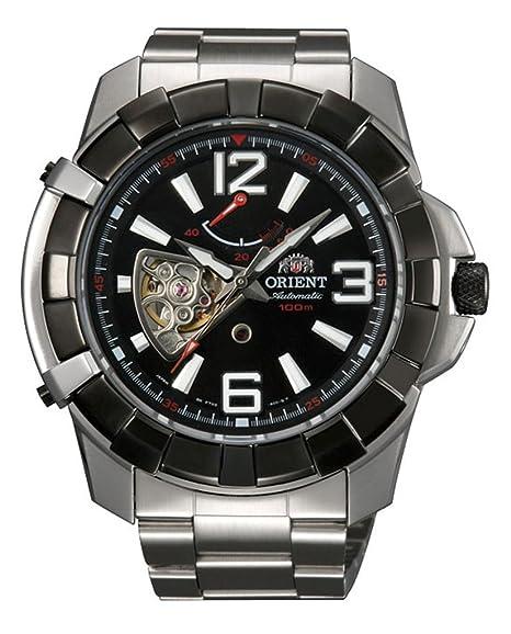 """Orient """"Guardian"""" deportivo automático Potencia reserva abierto corazón reloj ft03002b"""