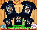 Moana birthday shirt, Moana and Maui birthday tshirt, Moana theme party shirts, Moana family shirts, Moana matching shirts