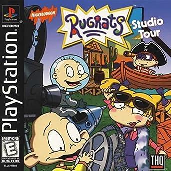 Amazon com: Rugrats: Studio Tour (PS1): Video Games