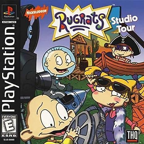 Amazoncom Rugrats Studio Tour Ps1 Video Games