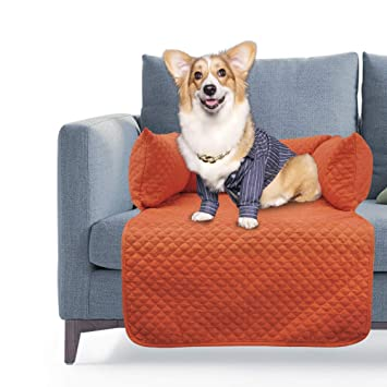 Amazing Topones Sofa Cover For Small Medium Large Dogs Cats With Bolster Cushions For Comfort And Protection Removable Washable Cover No Slip Bottom As Inzonedesignstudio Interior Chair Design Inzonedesignstudiocom