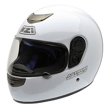 NZI Astron 600 Jr Casco de Moto, Blanco, 50-51