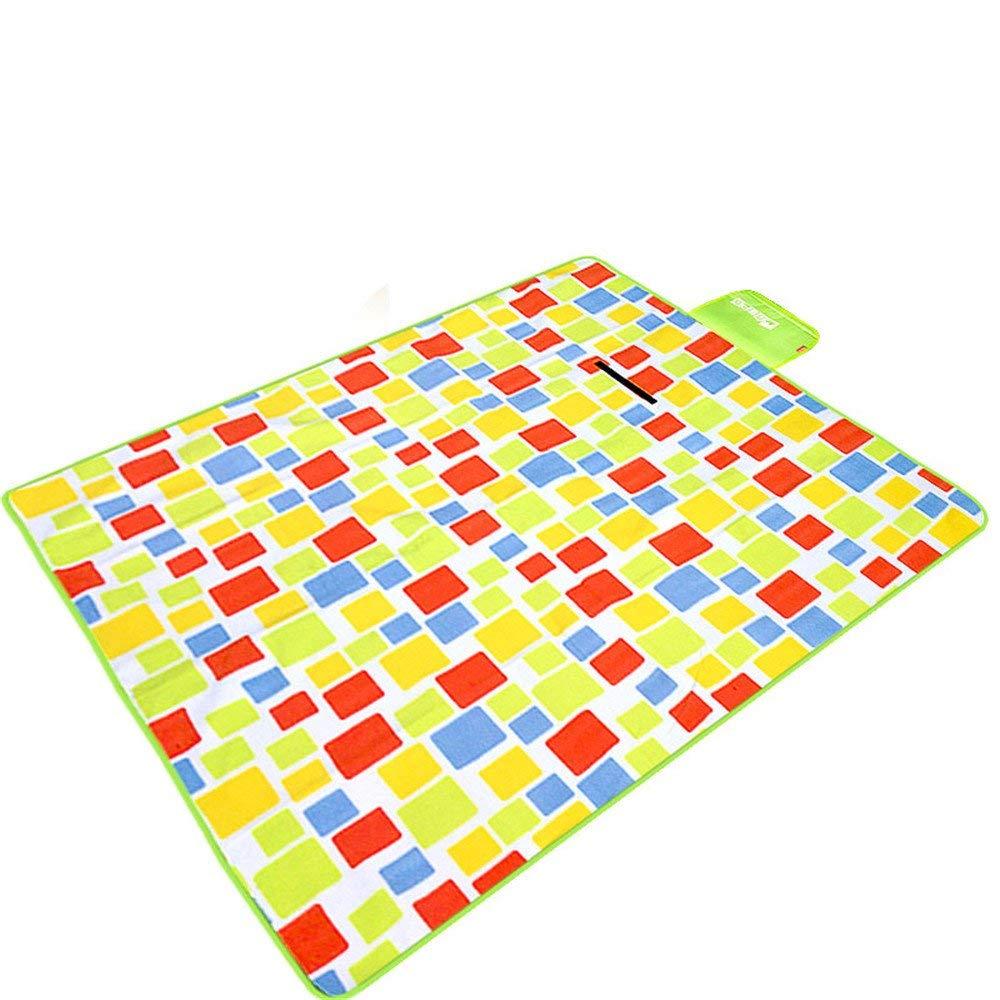ピクニック毛布 ピクニックラグ水分パッド屋外マット厚いマット芝生パッドポータブルピクニック布子供クリーパーパッド   B07RZBQYGD