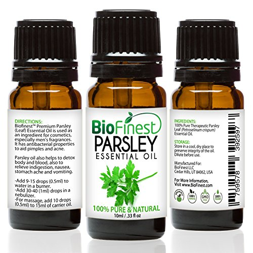 BioFinest Parsley Leaf Oil Aromatherapy product image
