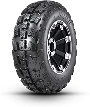 OBOR Advent ATV Tires 21x7-10, 6 Ply Sport ATV Tires Suitable for XC, Hard-pack, Intermediate, Loose Loam, Sand, Mud Terrain, Tubeless   GNCC Champion Tire(Pack of 1)