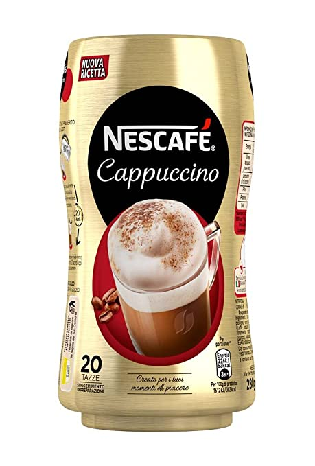 27 opinioni per Nescafé- Cappuccino, Preparato Solubile in Polvere con Caffè e Latte- 3