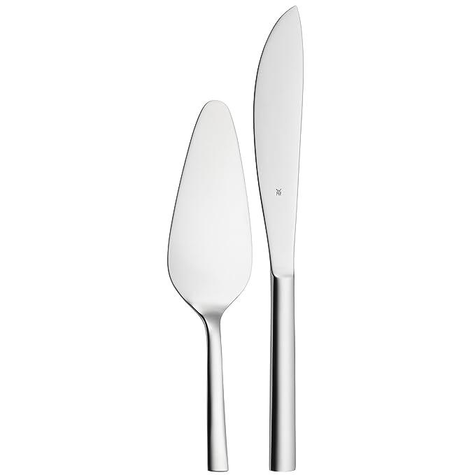 3 opinioni per WMF 1291519990 Nuova- Set paletta e coltello da torta, 2 pezzi