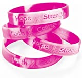 Fun Express Breast Cancer Awareness Bracelets