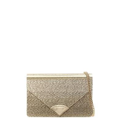 6f01f9b16b7a Michael Kors Barbara Gold Metallic Envelope Clutch Bag  Amazon.co.uk  Shoes    Bags