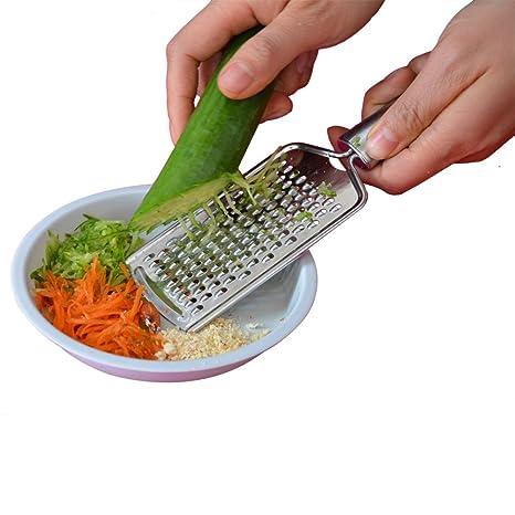 Flyager cocina queso/rallador de verduras/acero inoxidable ...