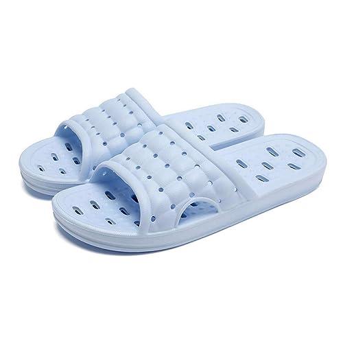 2e38f0e2bb65bf Men s and Women s Non-Slip Bathroom Shower Slippers with Foot Massage  Fashion Sandal