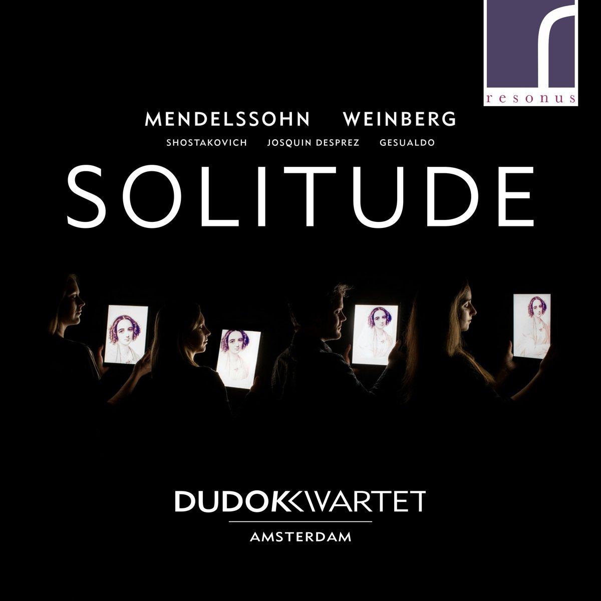 CD : Dudok Quartet Amsterdam - Solitude (CD)