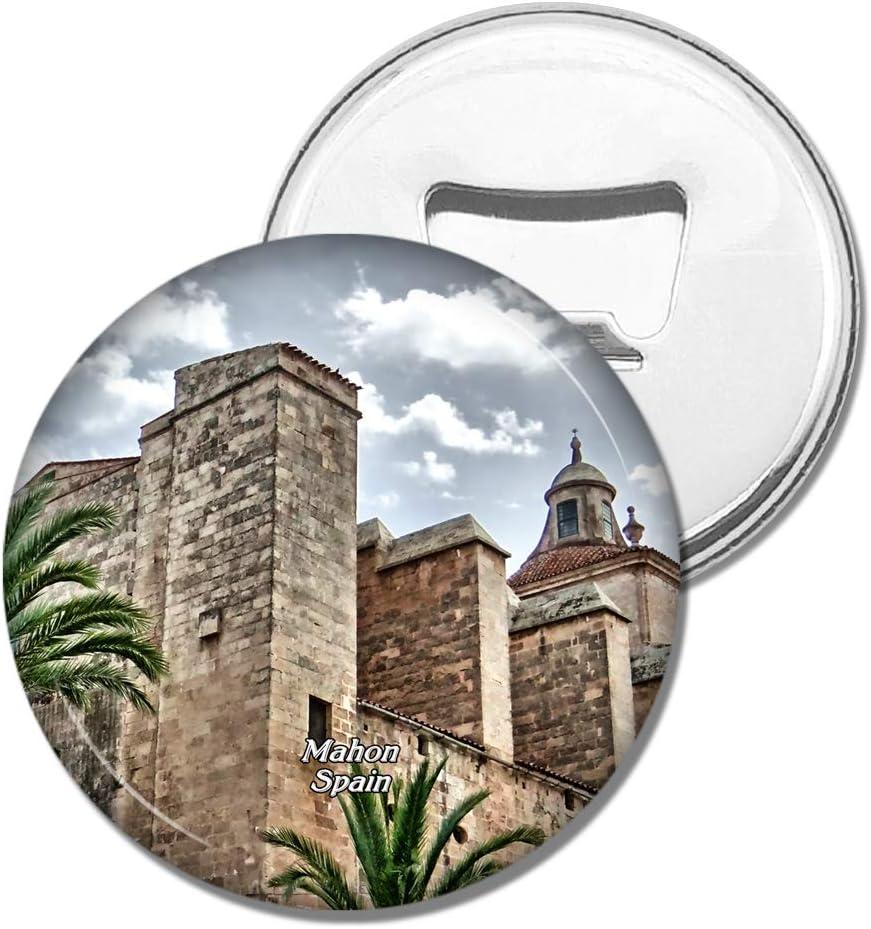 Weekino Imán de refrigerador España Fortaleza De Isabel II Mahon ...