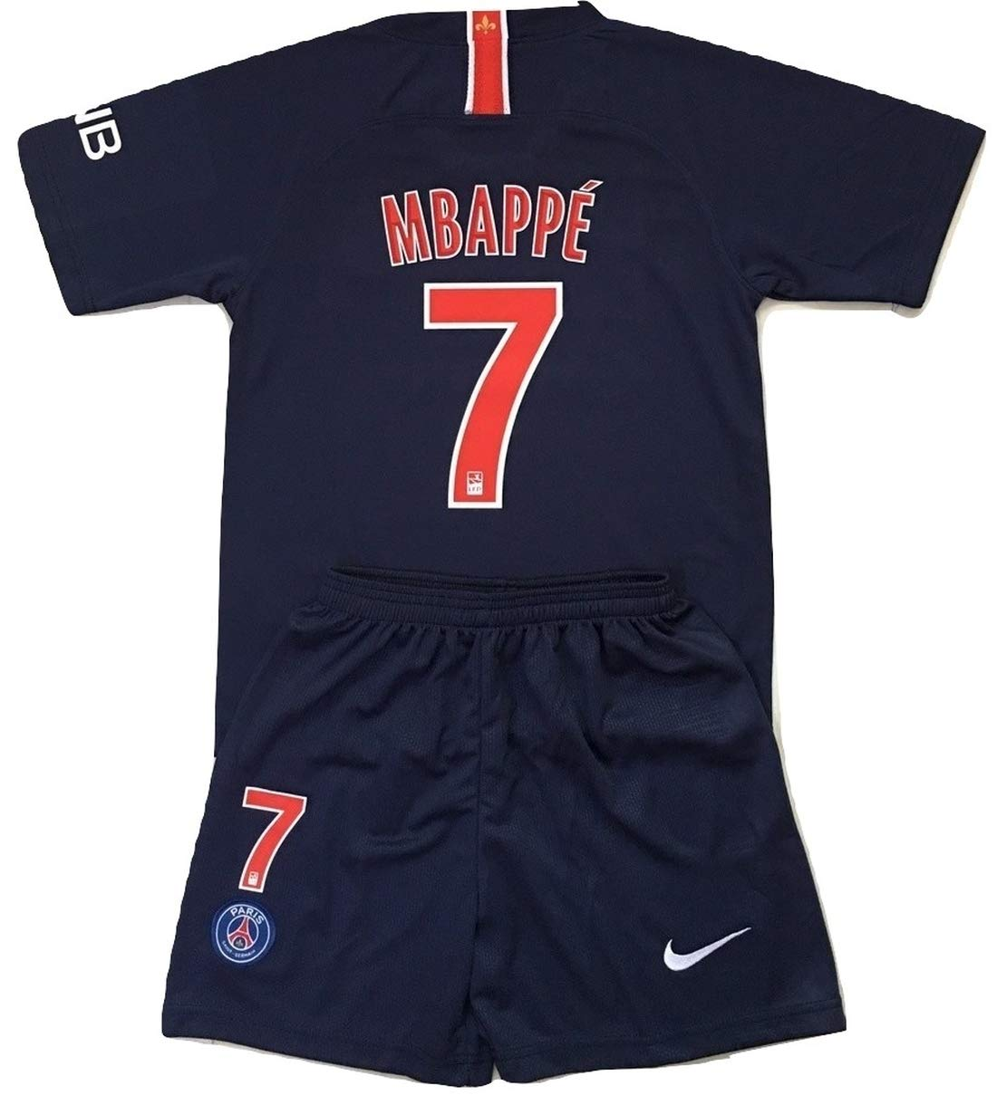 low priced 2c946 fdbc9 Amazon.com : Gadzhinski2017 Mbappe #7 PSG 2018-2019 Kids ...