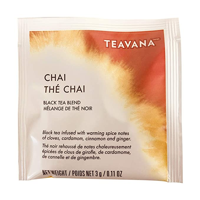Amazon.com : Starbucks Teavana Tea Sachets (The Chai, Pack of 24 Sachets) : Grocery & Gourmet Food