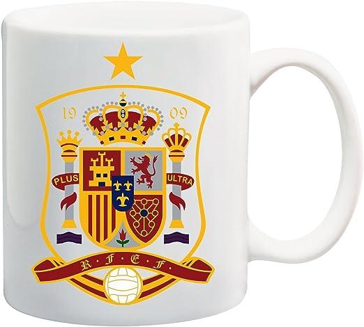 Soccer rfcf España Escudo Taza: Amazon.es: Hogar