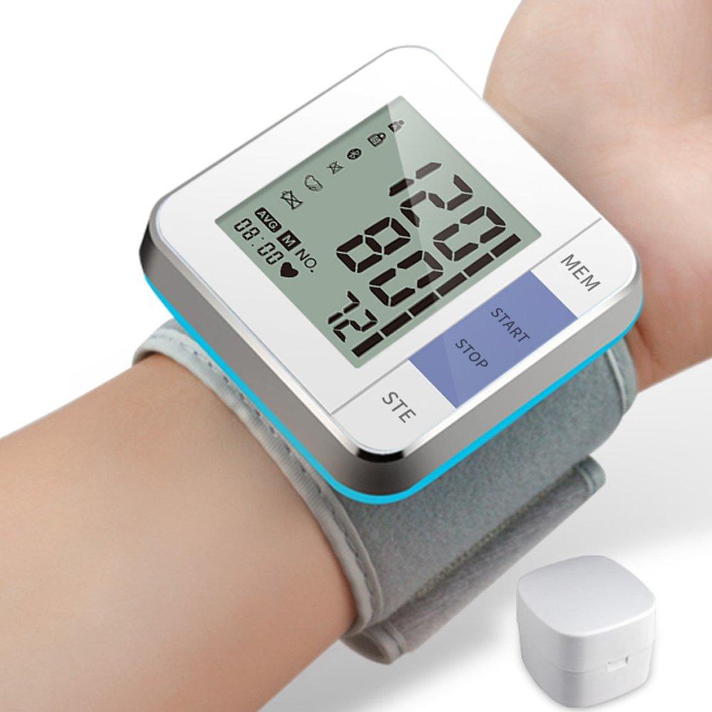 Perbeat Tensiómetro Automático Digital de Muñeca con Detección de Pulso, Modo 2 Usuarios, Recuerdo de Memoria: Amazon.es: Salud y cuidado personal