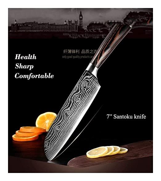 Compra YUANYUAN520 Knife Cuchillos De Cocina De 8 Pulgadas ...