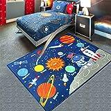 ZXDG-kids childrens planet solar system rugs carpets for children's room