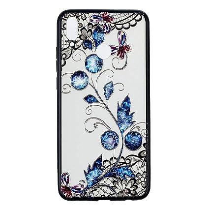 Amazon.com  MGVV Huawei Honor 8X Case for Women 9f0935b53