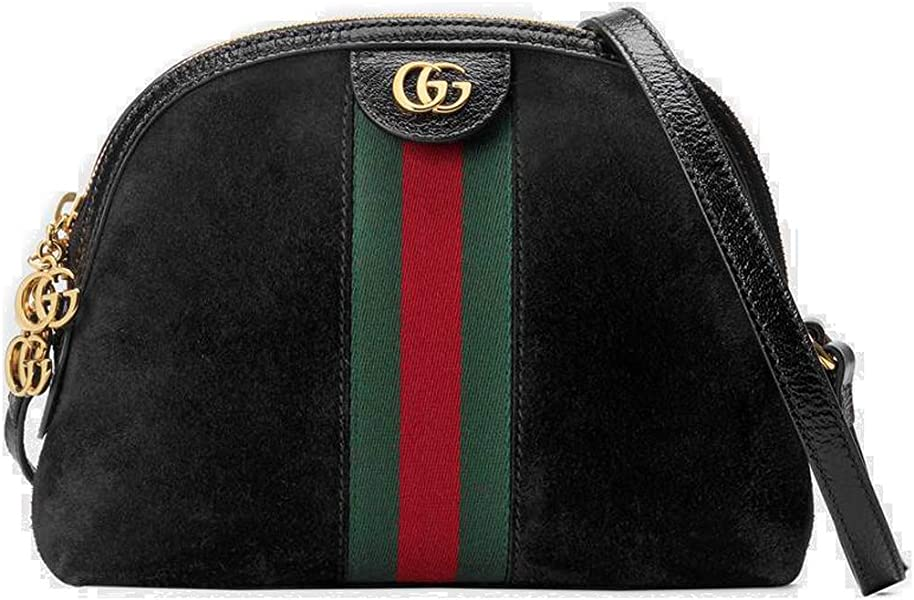 14d544da09c Gucci Ophidia Small Shoulder Bag Black Article: 499621 D6ZYG 1060 Made in  Italy
