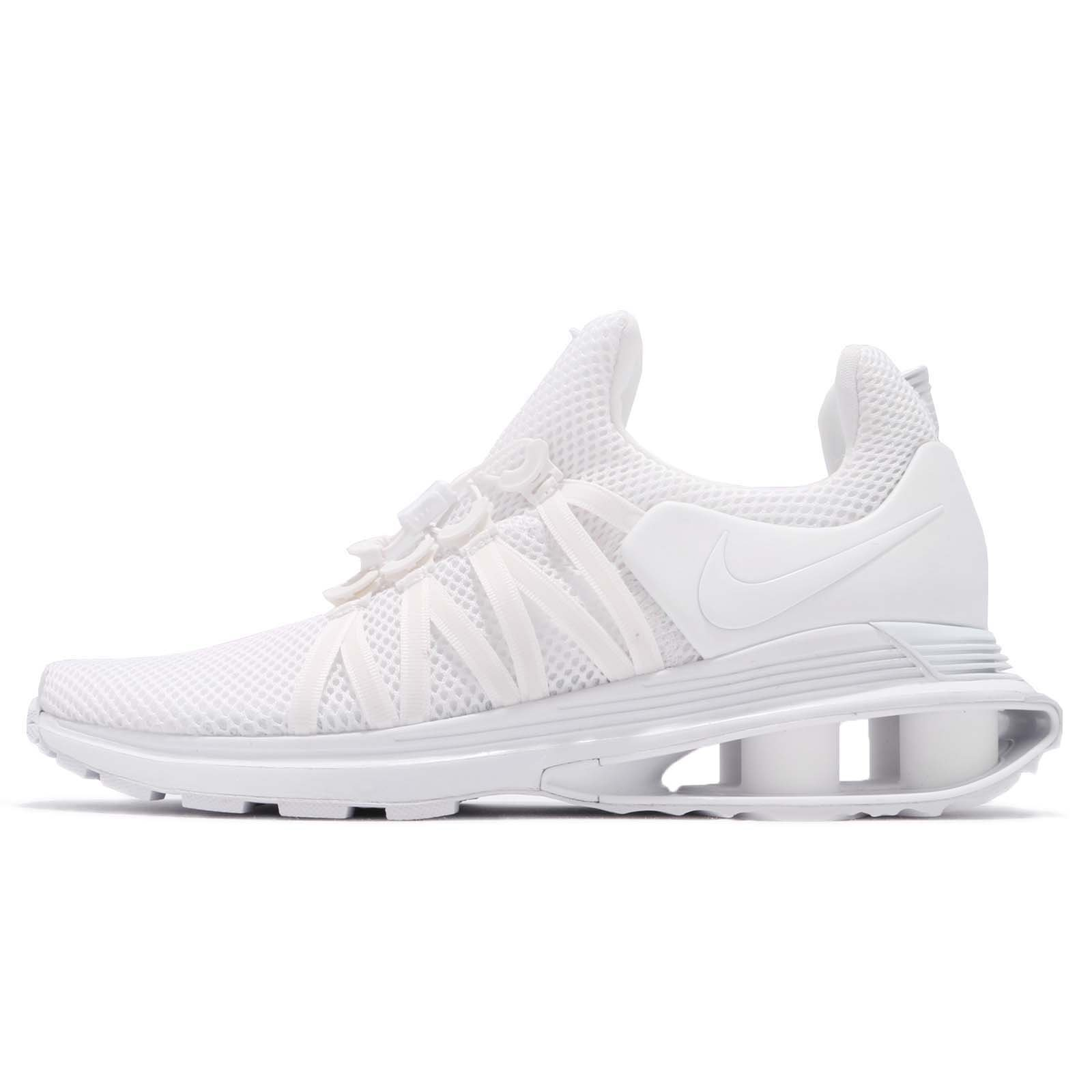 Galleon - Nike Men s Shox Gravity White White White Nylon Running Shoes  11.5 (D) M US 30c0eb8eb