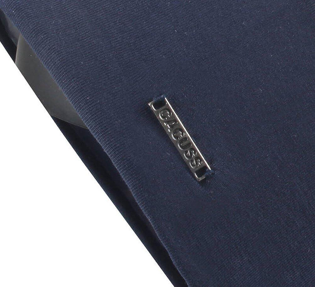 leicht und weich Longbeanie,Jersey Baumwolle elastisch Unisex Herren Damen M/ütze CACUSS Klassische Slouch Beanie M/ütze