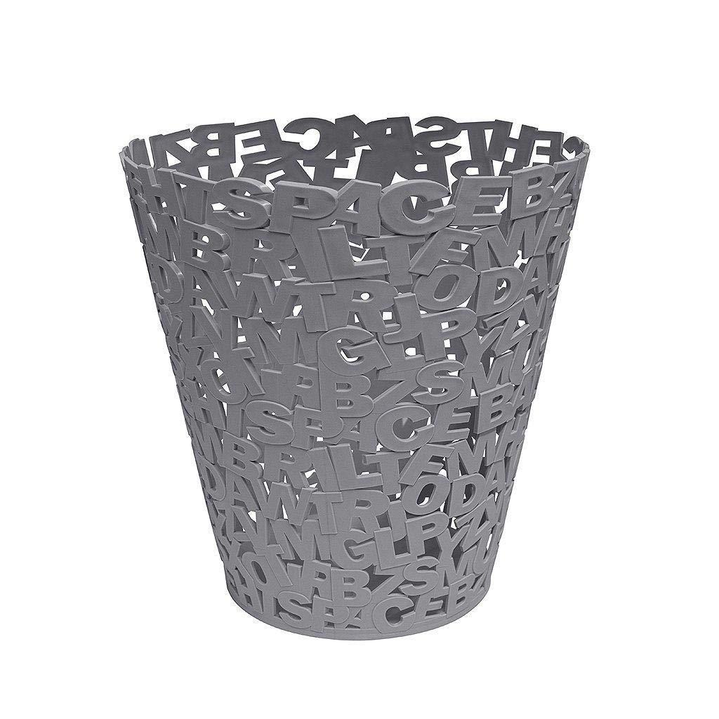 Depory Cubo de Basura Moderno para el ba/ño Preciosa Papelera de dise/ño Blanco