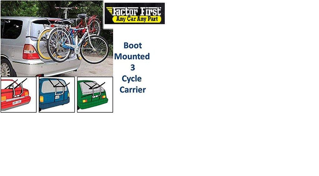 Peugeot 206 Estate 1998-2009 3 Triple Rear Bicycle Bike Car/Cycle Carrier Rack
