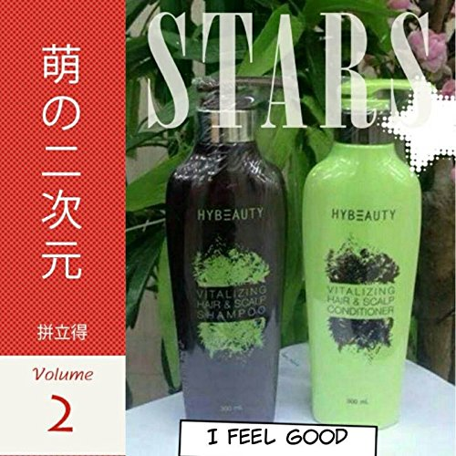 4 Sets Hybeauty Vitalizing Hair & Scalp Shampoo and Conditioner 300 ml.with tracking & gift by Hybeauty (Image #3)
