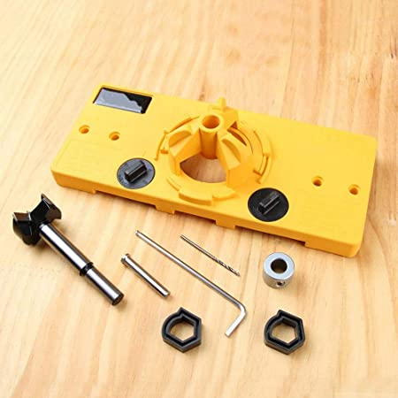 Stand Limit Ring 35MM Concealed Hinge Jig Boring Hole Drill Guide Hole Locator