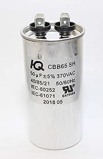 Amazon com: TEMCo Motor Run Capacitor RC0015-50 mfd 370 V