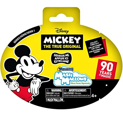 Basic Fun Mashems Marshmallow Mickey Mouse (4 Capsules): Toys & Games