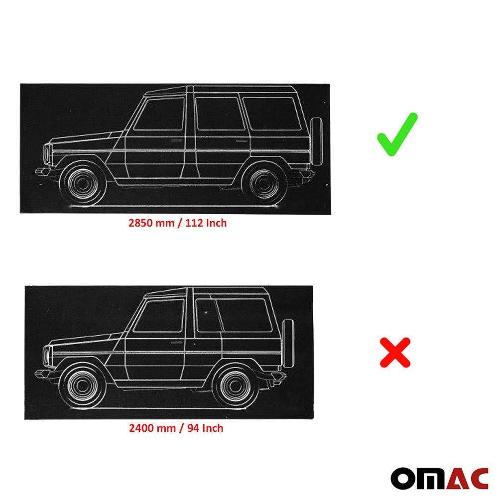 OMAC Trittbretter Seitenschweller Aerodynamik Funktional Aluminium Pyramid