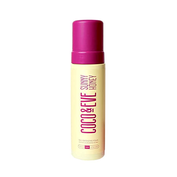 Coco & Eve Sunny Honey Bali Bronzing Self Tanner Mousse