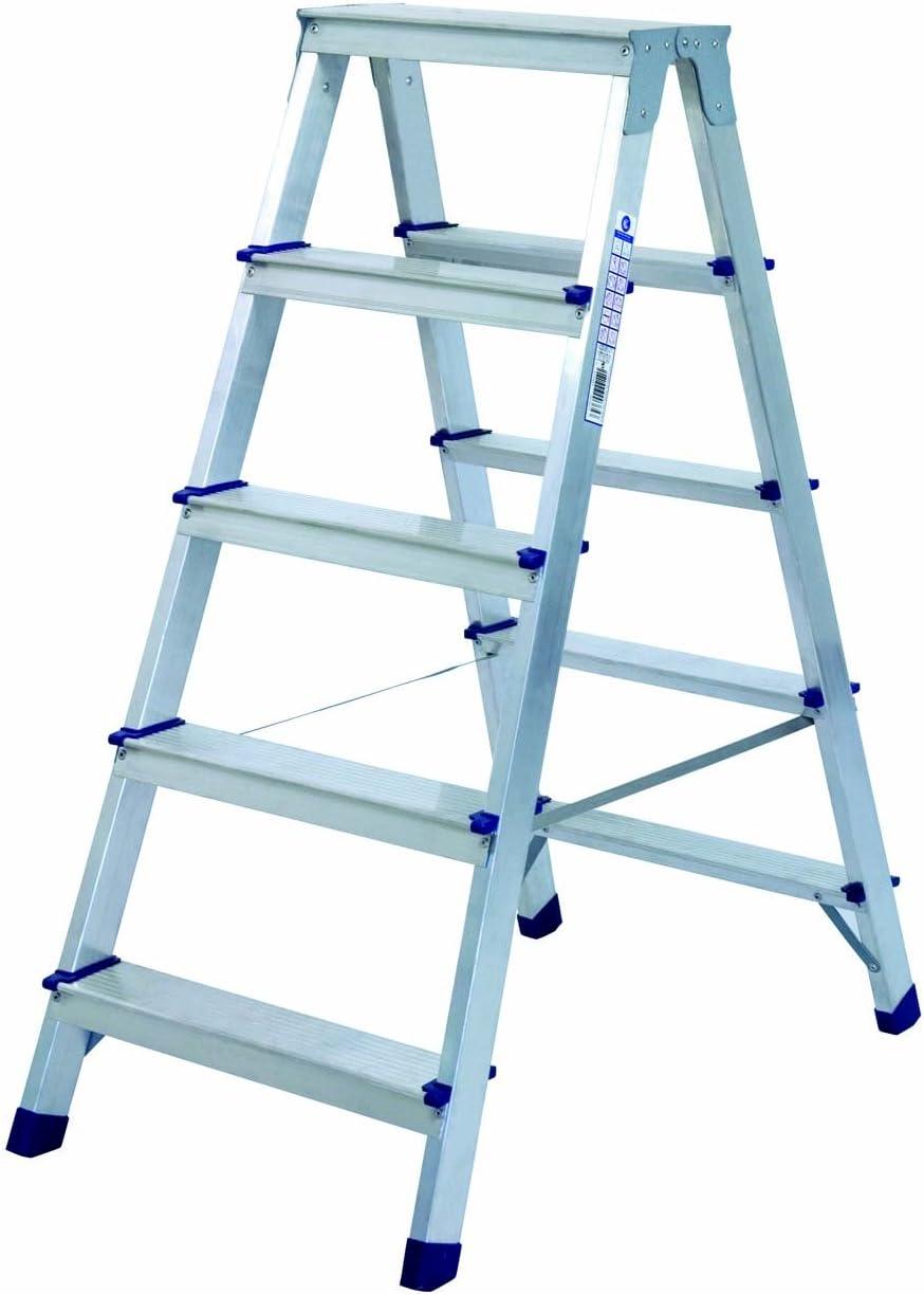 Altipesa 365 Escalera de Tijera Doble Acceso de 5 Peldaños: Amazon.es: Bricolaje y herramientas