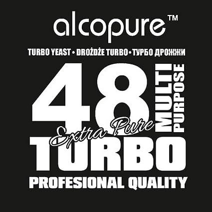 Turbo de levadura – TURBO 48 Alco Alta puro espíritu de Alcohol VODKA Alcohol Home Brew