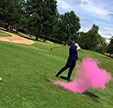 Exploding Trick Golf Balls + Gender Reveal Party