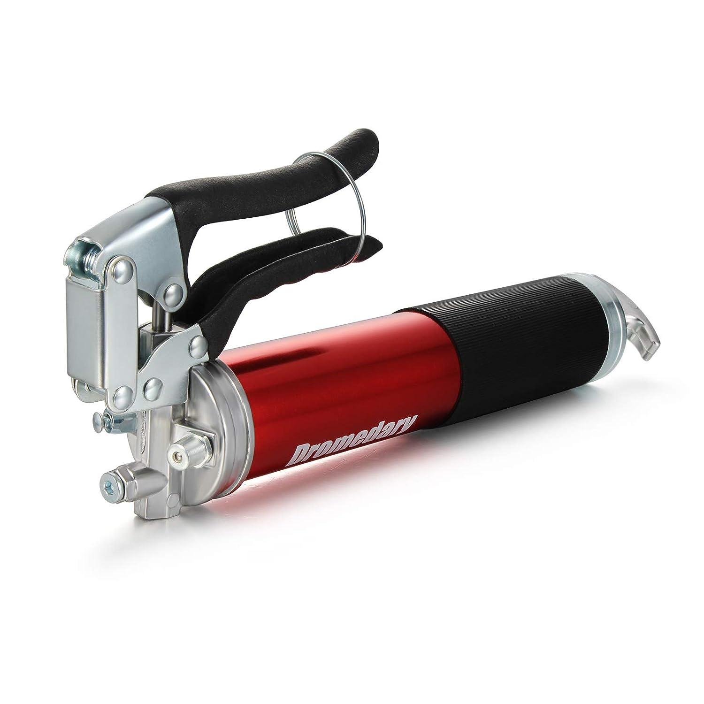 Dromedary Fettpresse robust schnurlos Pistolengriff mit Flex-Schlauch 4500/psi professionell
