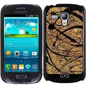 Funda para Samsung Galaxy S3 Mini (GT-I8190) - ónix by BruceStanfieldArtist