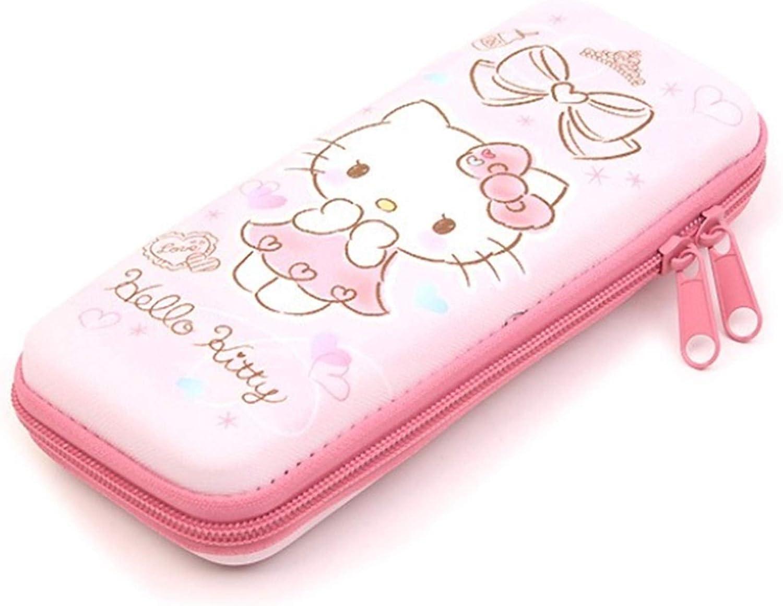 Hello Kitty RE43P - Estuche para lápices, color rosa: Amazon.es: Juguetes y juegos