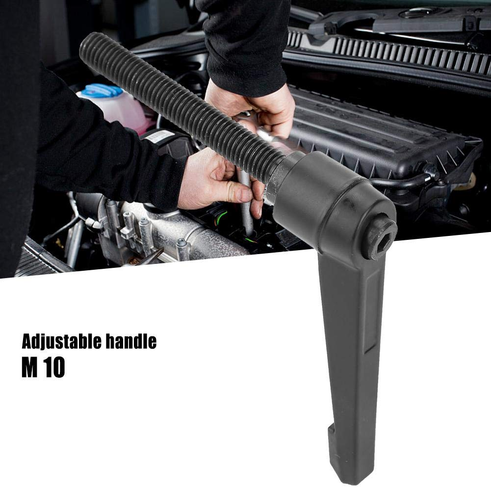 Adjustable Handle Samfox Metal Machine Knobs Adjustable Fixing Handle M10 Male Thread,4PCS 50mm//2inch