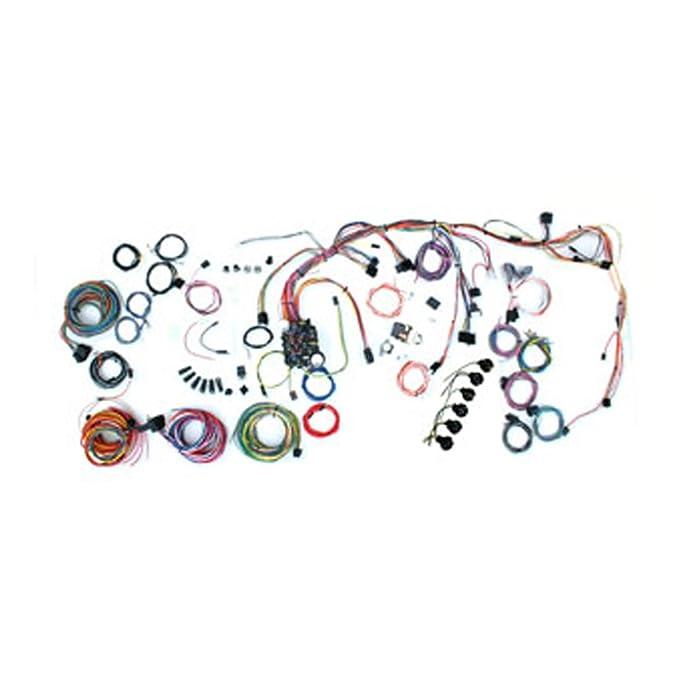 Sensational Amazon Com American Autowire 500878 Wire Harness System For 69 72 Wiring Digital Resources Zidurslowmaporg
