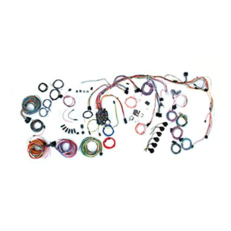 amazon com american autowire 500878 wire harness system for 69 72 86 Mustang Wiring Harness 72 nova wiring harness