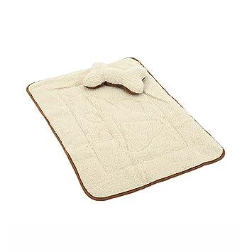 HooPet® Se admiten pana Cojín cama almohadillas de calor con hueso en forma de almohada para perros y gatos (Brown) - 105 x 80 cm: Amazon.es: Hogar