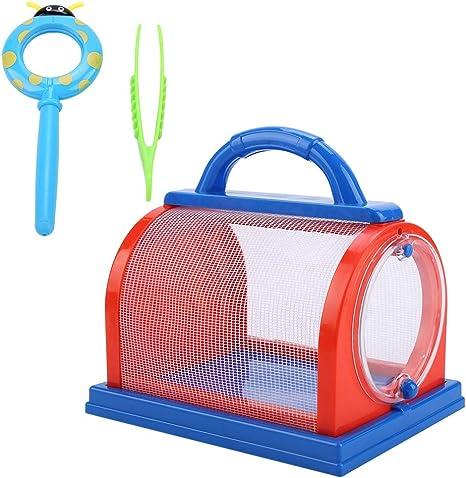 Tbest Kit de Insectos Captura, Jaula de Insectos Caja de Insectos ...