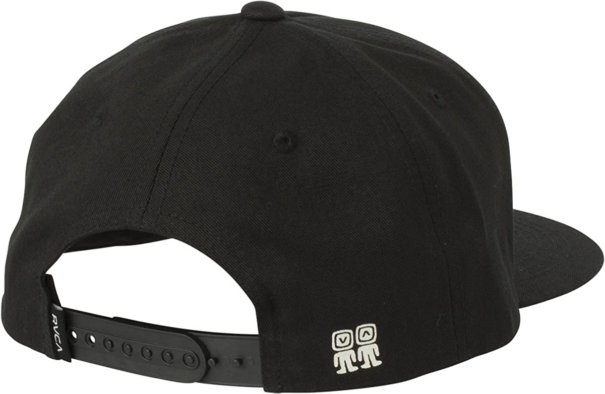 huge discount c4c04 6bc77 ... wholesale amazon rvca campbell brothers snapback hat black one size  clothing 133f5 42fb3