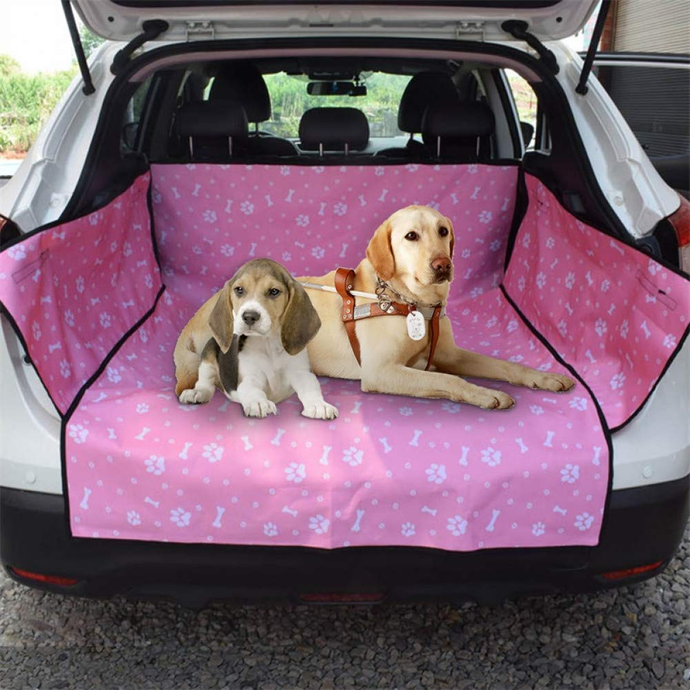 yellow M CZHCFF Dog Car Seat Cover View Waterproof Mesh Pet Carrier Car Seat Back Mat Hammock Mattress Predector with Zipper and Pockets
