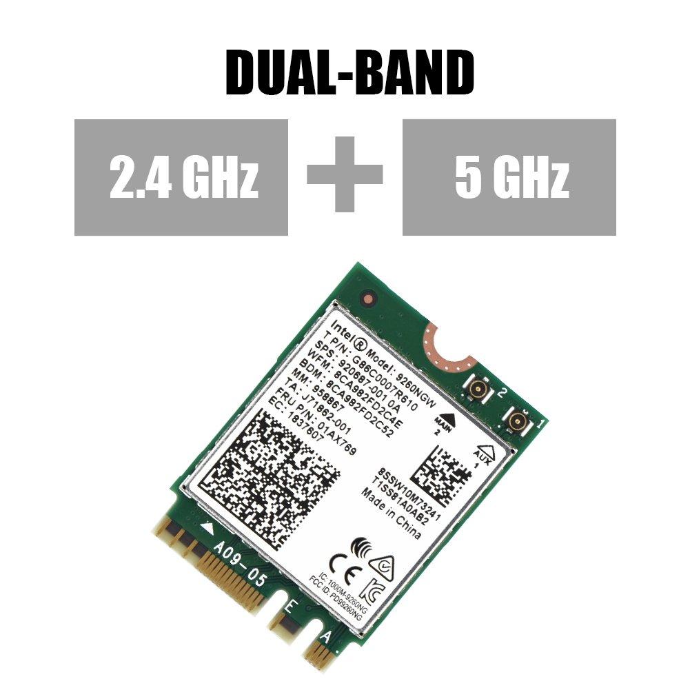 Amazon.com: Mini WiFi Card, Asixx High Speed 2.4G + 5G Dual ...