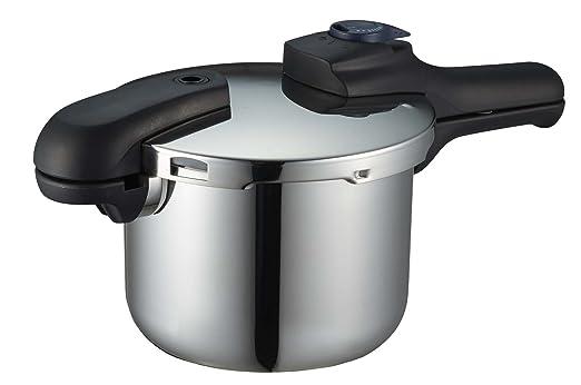 パール金属 クイックエコ 3層底切り替え式圧力鍋 3.5L